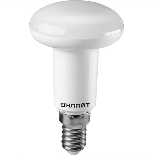 231241 600x606 - Лампа LED ОНЛАЙТ R50 5W 4000К E14