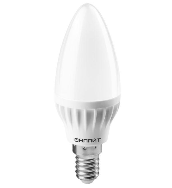 271513212 600x653 - Лампа LED ОНЛАЙТ Свеча 8W 2700К E14