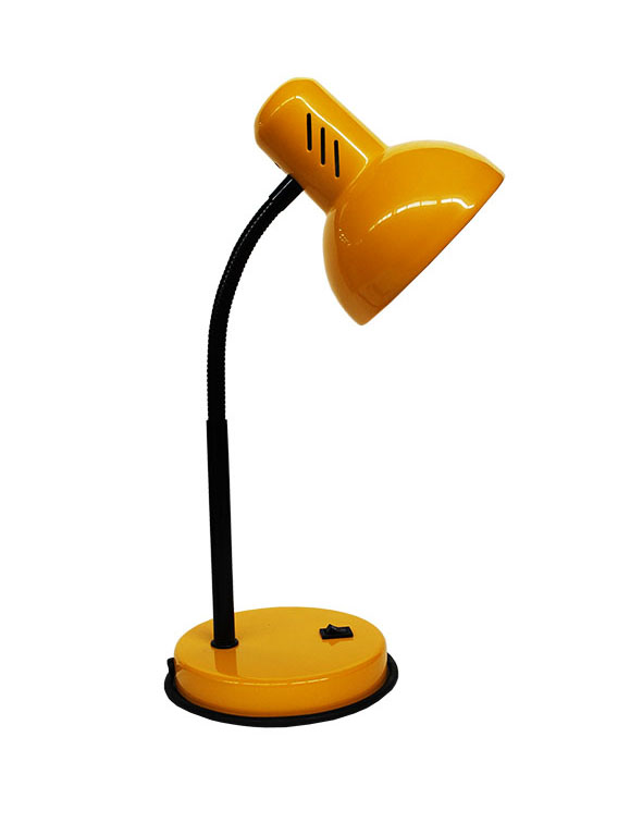 72000.04.45.01 - Лампа настольная абрикос на основе средн. Е27