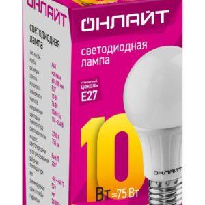 a432532cfc07eed3732c95fd272d017f 300x300 - Лампа LED ОНЛАЙТ A60 10W 2700К E27